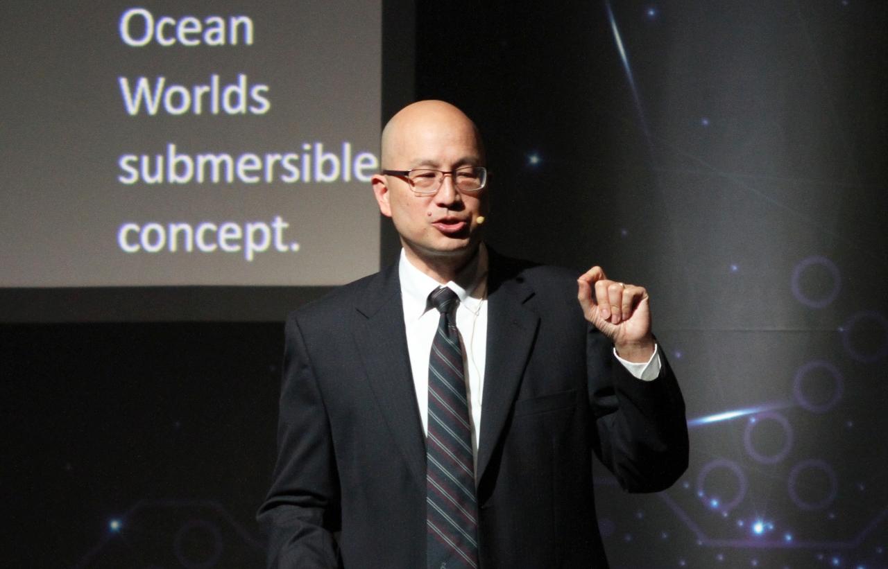 NASA Head of AI, 스티브 치엔(Steve Chien) 박사(사진:최광민 기자)