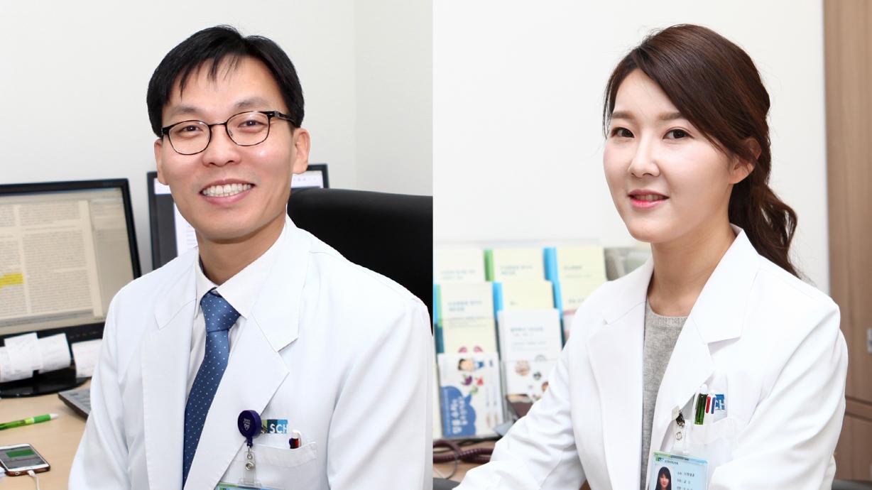 순천향대학교 서울병원 내과 오송희(오른쪽)·권순효 교수팀