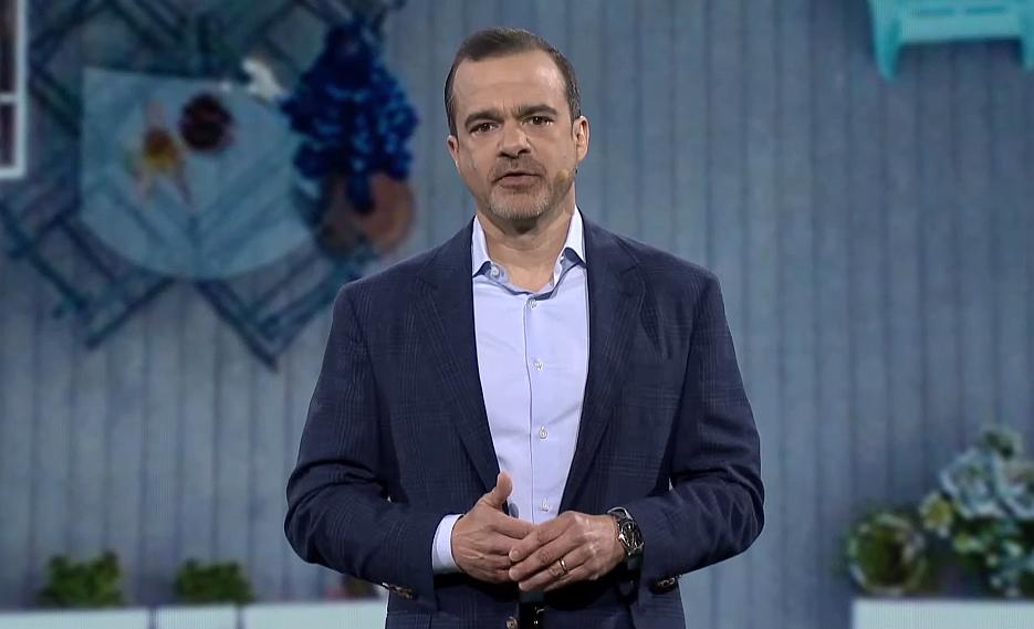 아마존 소비자 사업 부문(Worldwide Consutmer)의 제프 윌키(Jeff Wilke) CEO(사진:기조연설영상 캡처)